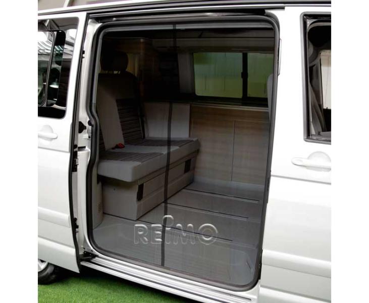 moskitonetz f r schiebet r vw t5 t6 california camperx. Black Bedroom Furniture Sets. Home Design Ideas