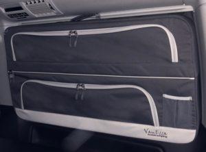 Packtaschen VW T5 / T6 Anthrazit