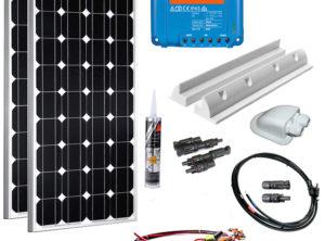 Solaranlage Wohnmobil 200 Watt Set