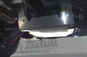 Unterbodenschutzplatte VW Transporter
