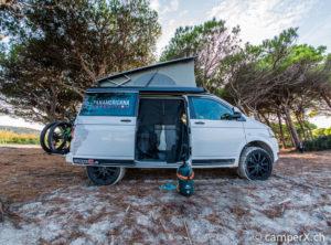 VW T5 / T6 / T6.1 Bus Sommer Kompletträder 18″