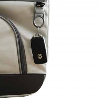 Packtaschen Detail VW T6 2er Bank