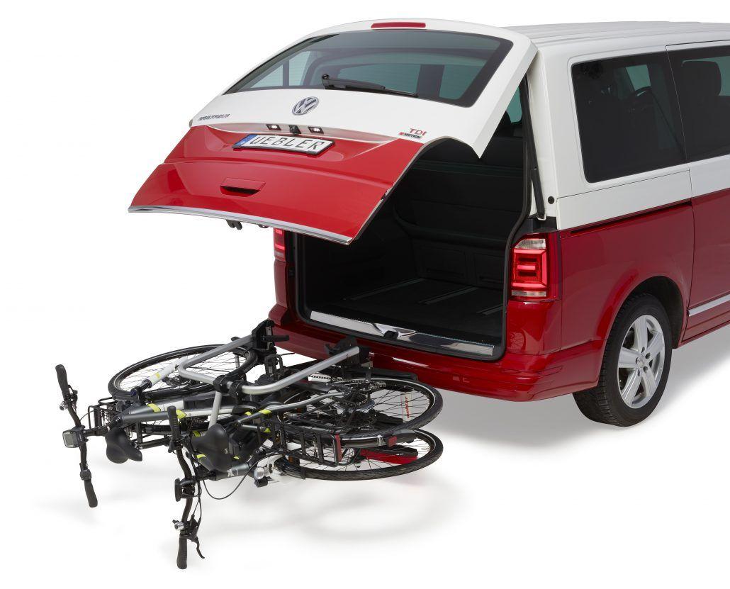 fahrradtraeger vw t6 t5 ahk uebler i21 90 top preis camperx. Black Bedroom Furniture Sets. Home Design Ideas