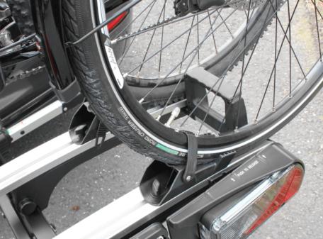 Befestigung Fahrradträger Eufab Premium II Plus