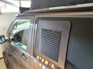 Lüftungsgitter für den VW California T6.1