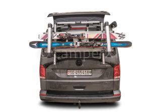 VW T6 Skiträger Heckklappe